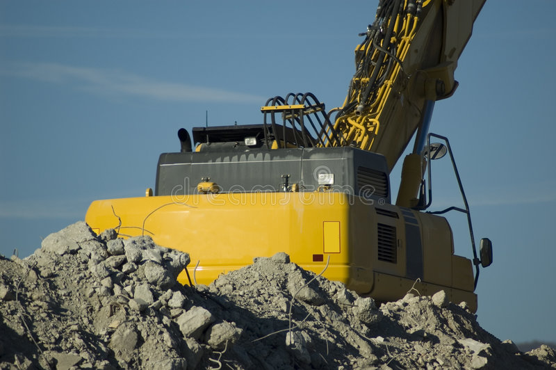 Construction Machinery Royalty Free Stock Photography