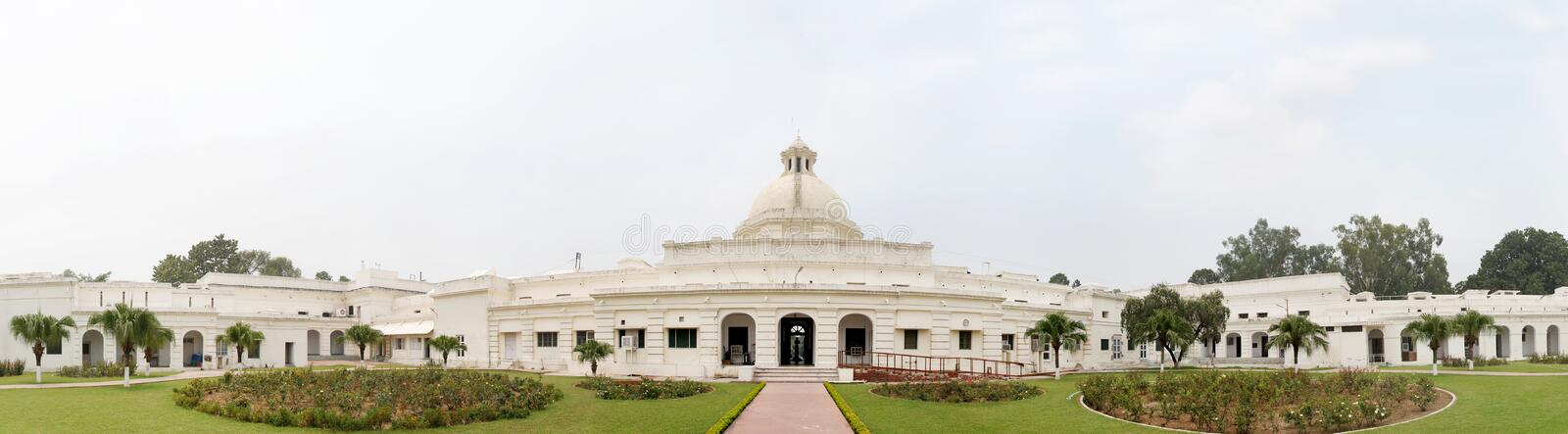 Construction of main building of IIT Roorkee started in 1852. ROORKEE, INDIA - JULY 03: The interior of administrative building of IIT Roorkee photographed on royalty free stock photography