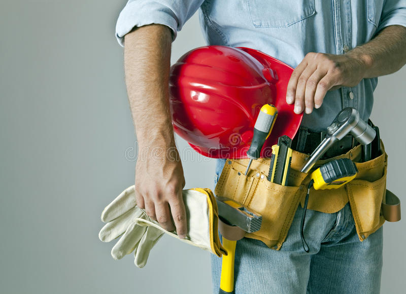 Construction Man stock images
