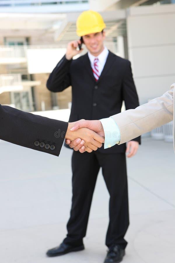 Download Construction Man Deal Hanshake Stock Photo - Image of deal, corporate: 14110866
