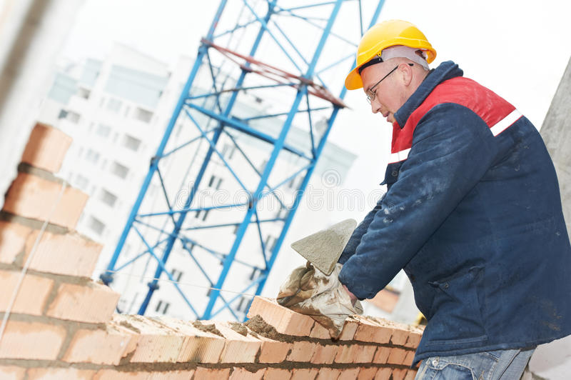 Download Construction Mason Worker Bricklayer Stock Image - Image of glove, craftsman: 24600025