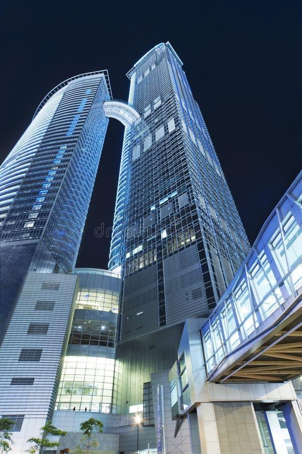 Construction moderne à Hong Kong photographie stock libre de droits