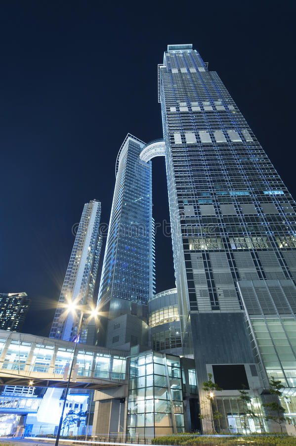 Construction moderne à Hong Kong photos stock