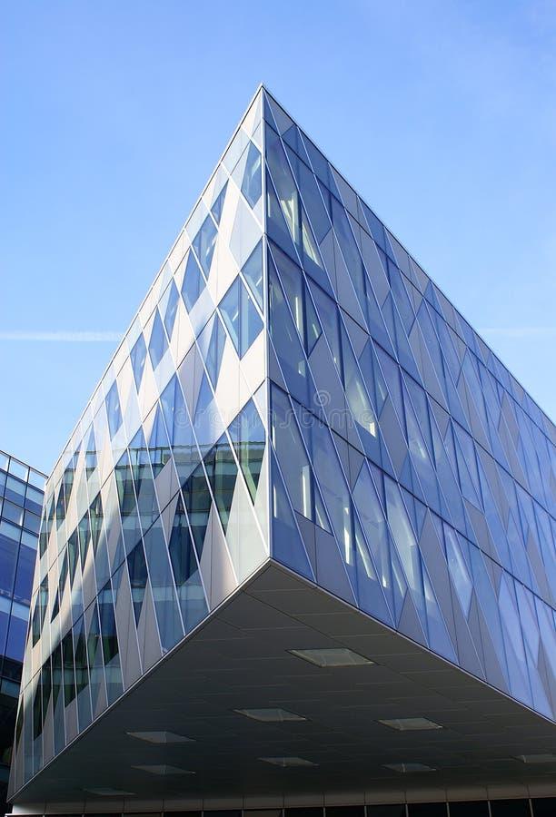 Construction moderne à Manchester, R-U photo libre de droits