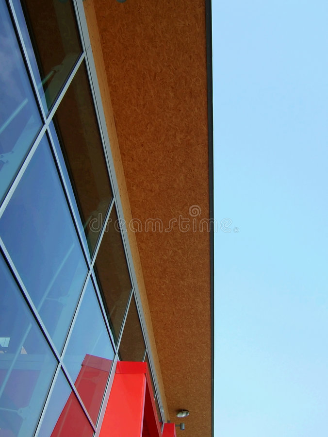 Construction moderne image stock