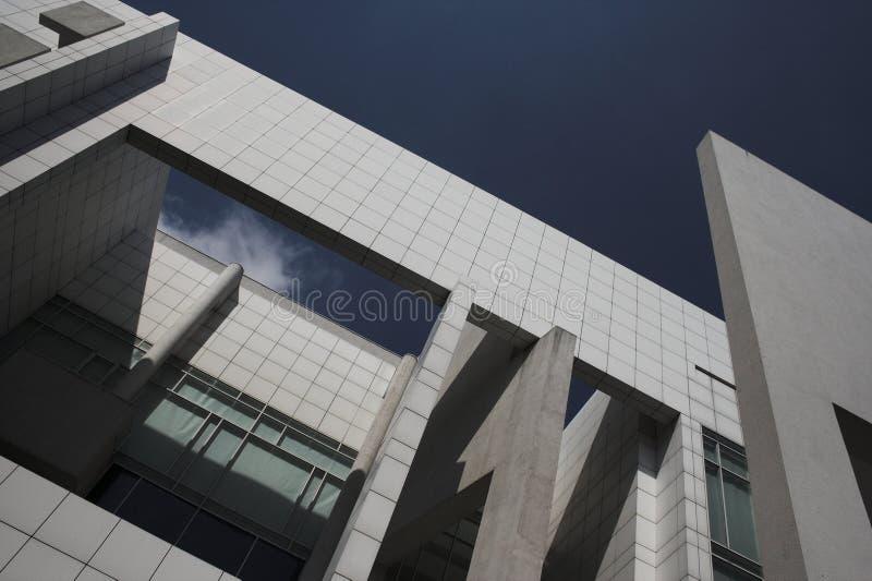 Construction moderne photographie stock libre de droits