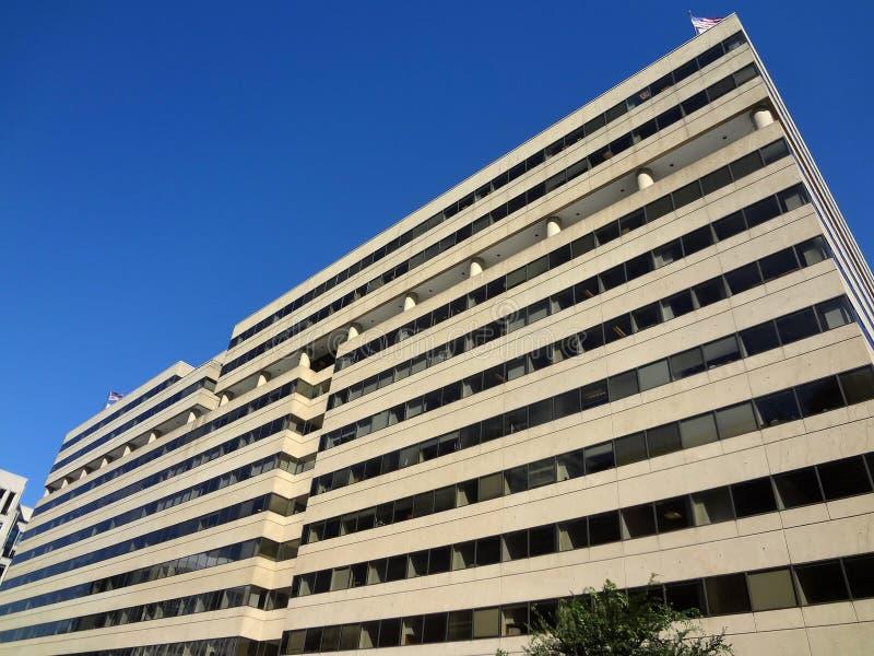Construction moderne dans le Washington DC photo libre de droits