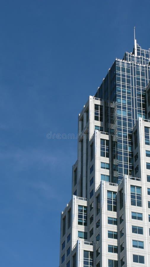 Construction moderne de gratte-ciel photo libre de droits