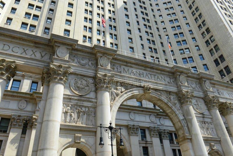 Download Construction Municipale De Manhattan, New York City Image stock - Image du constructions, divertissement: 76089739