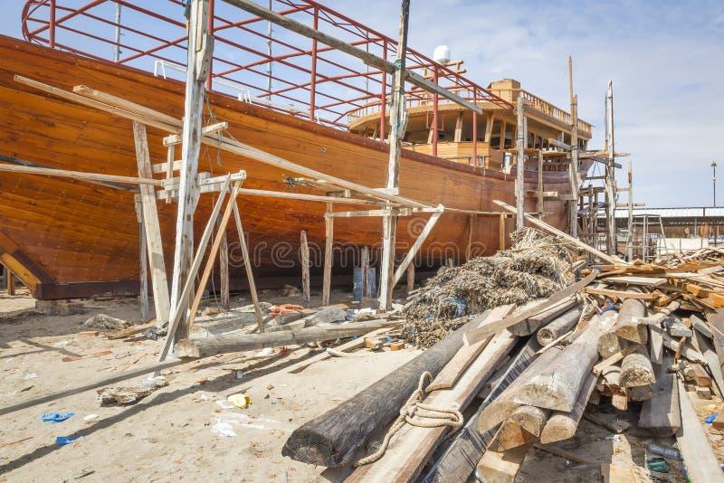 Construction navale Oman photos libres de droits