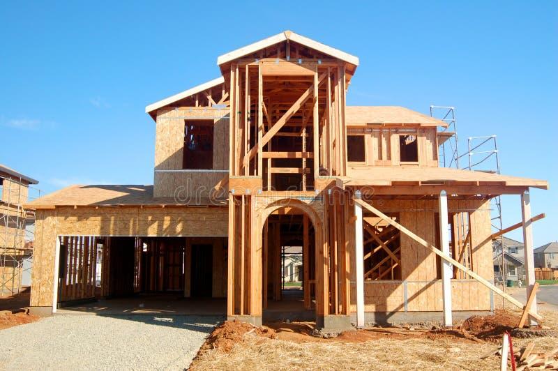 Construction neuve photos libres de droits