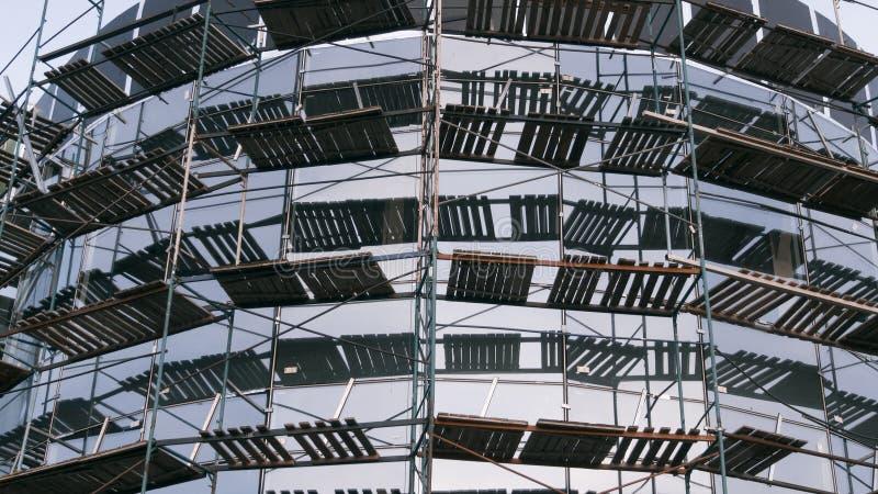 Construction neuve en construction photographie stock libre de droits