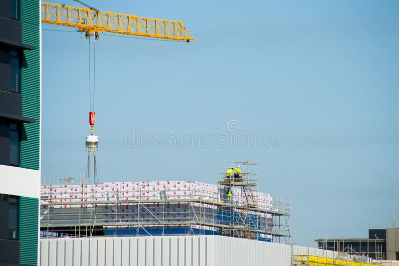 Construction of New Western Australian Museum royalty free stock photos