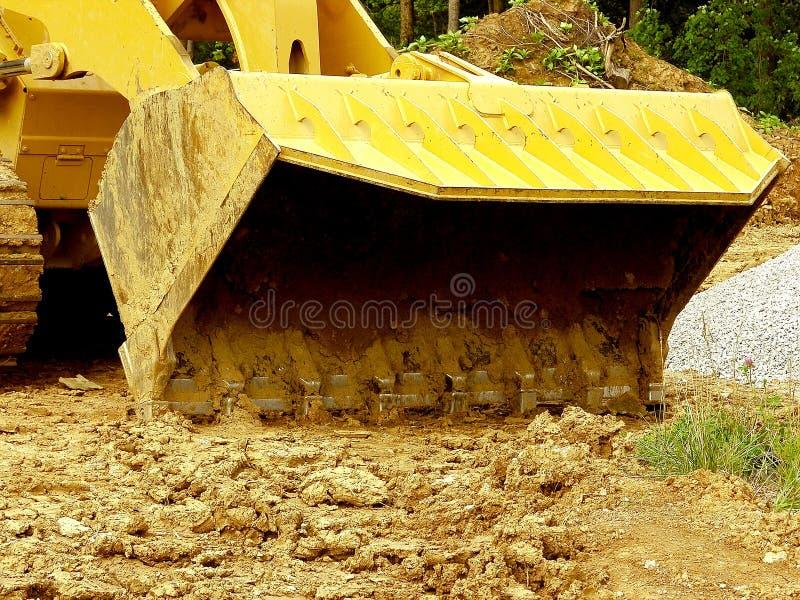 Construction - a obtenu l'épuisette ! photos stock
