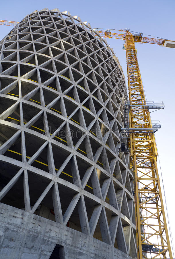 Free Construction Of Building Royalty Free Stock Photography - 17793367
