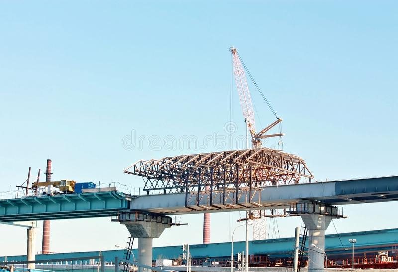 Download Construction Of The Overpass Stock Photo - Image of ramp, high: 28593706