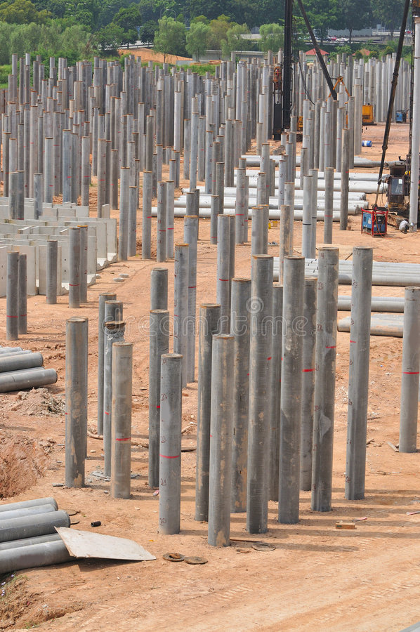 Free Construction Piling Series 1 Royalty Free Stock Image - 5327956