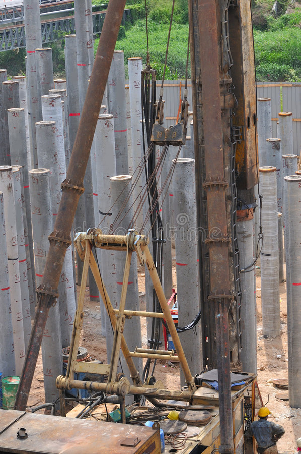 Free Construction Piling Series 8 Stock Images - 5328054