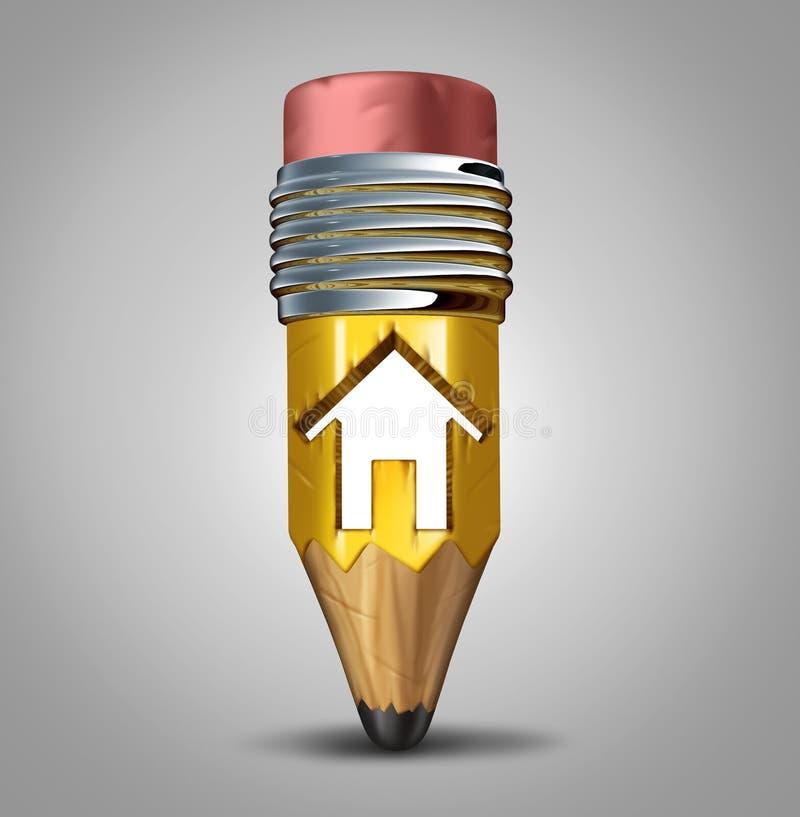 Construction Plan vector illustration