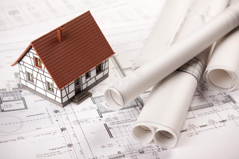 Download Construction Plans stock image. Image of builder, construction - 12693295