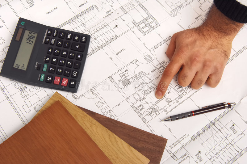 Download Construction plans stock image. Image of drawing, office - 8154853