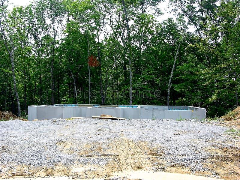 Download Construction - Poured Concrete Foundation Stock Image - Image: 173707