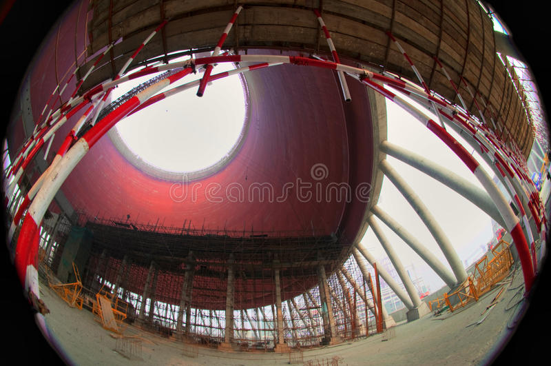 Download In The Construction Of Power Plants Stock Image - Image: 35744489
