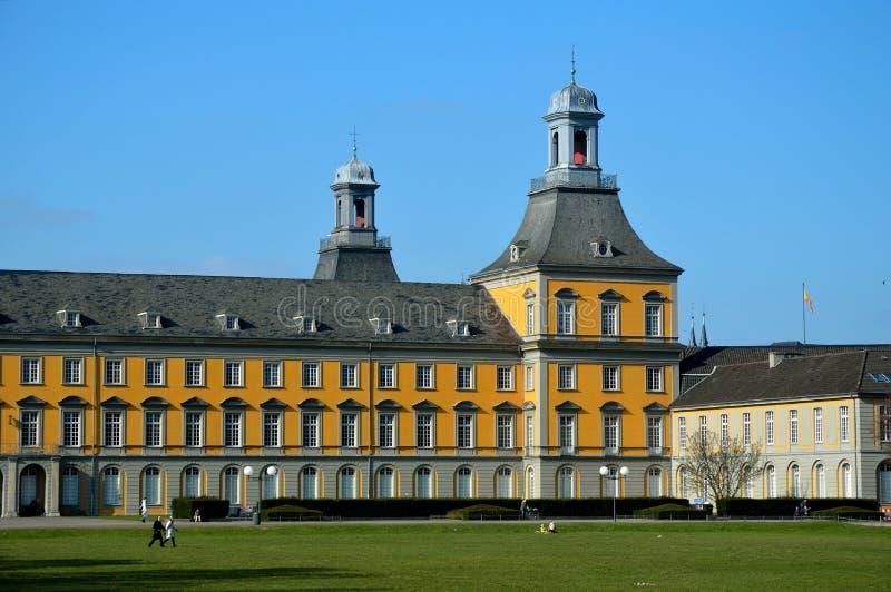 Construction principale d'université de Bonn photographie stock
