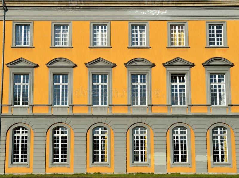Construction principale d'université de Bonn photos libres de droits