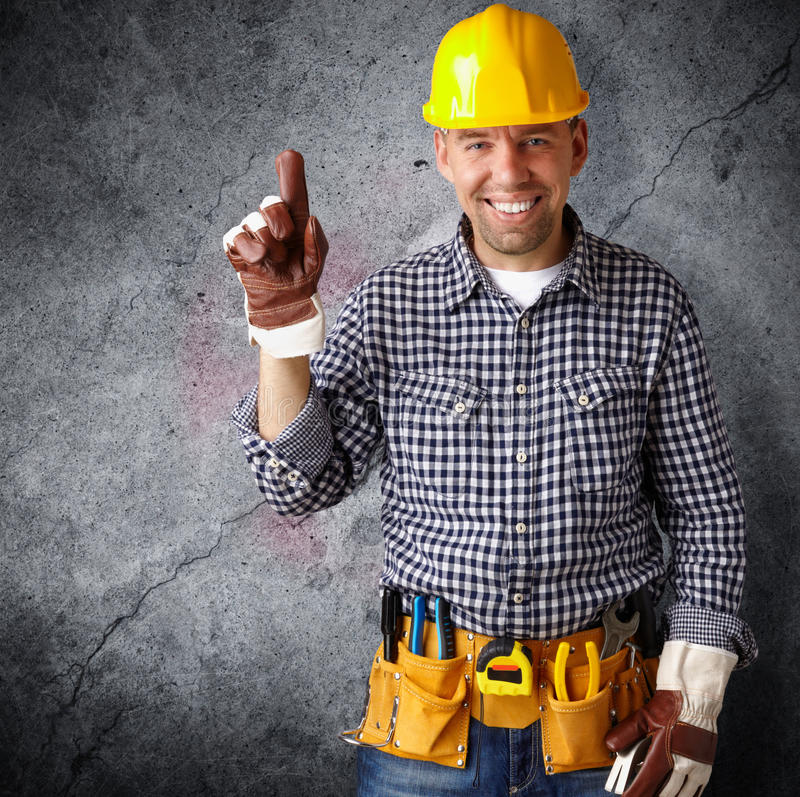 Construction professionnelle image stock