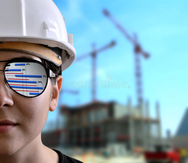 Construction project royalty free stock photos