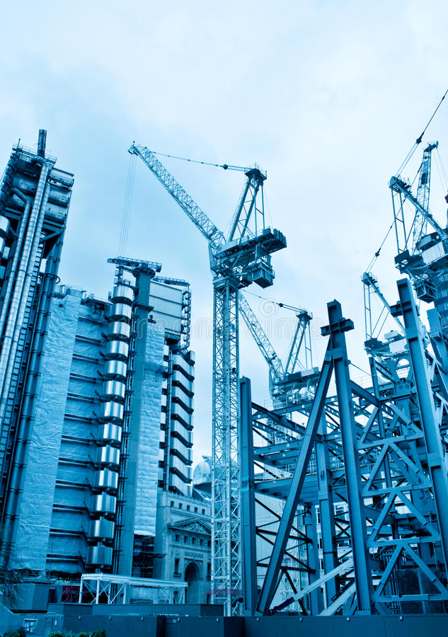 Download Construction project site stock image. Image of site - 24279807
