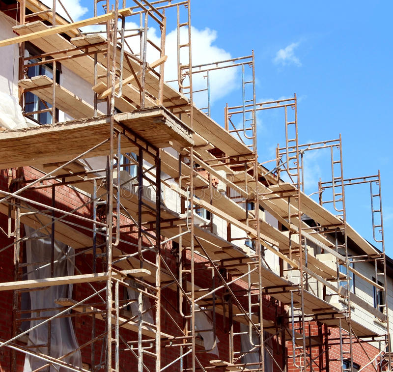 Construction résidentielle photos stock