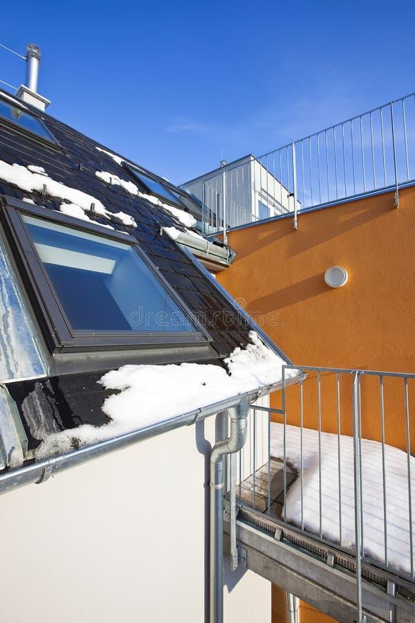 Construction résidentielle moderne photos libres de droits