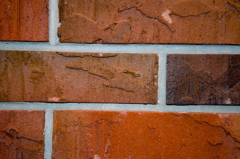Download Construction red bricks stock photo. Image of lining, finish - 7377214