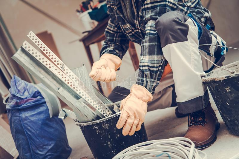 Construction Remodeling Theme stock photography