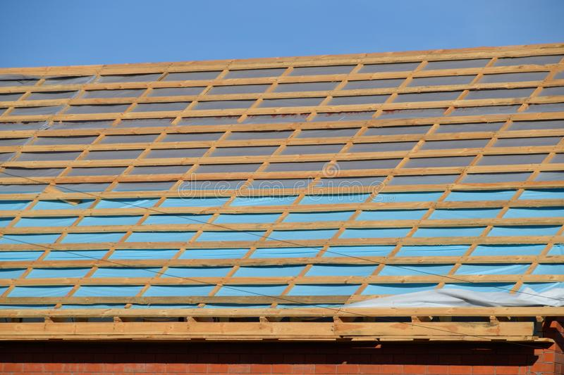 Roofing Work At A Shell Stock Image Image Of Negative