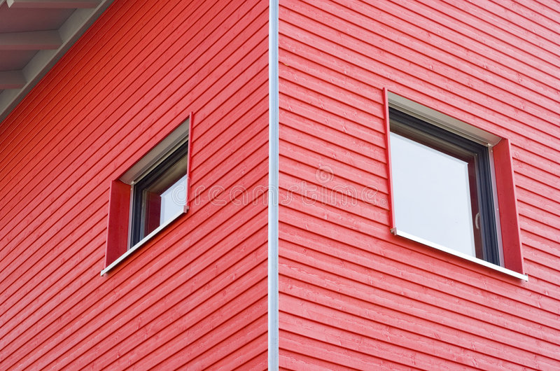 Construction rouge photo stock