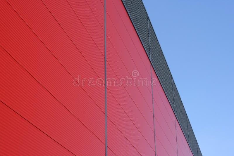 Construction rouge photo libre de droits