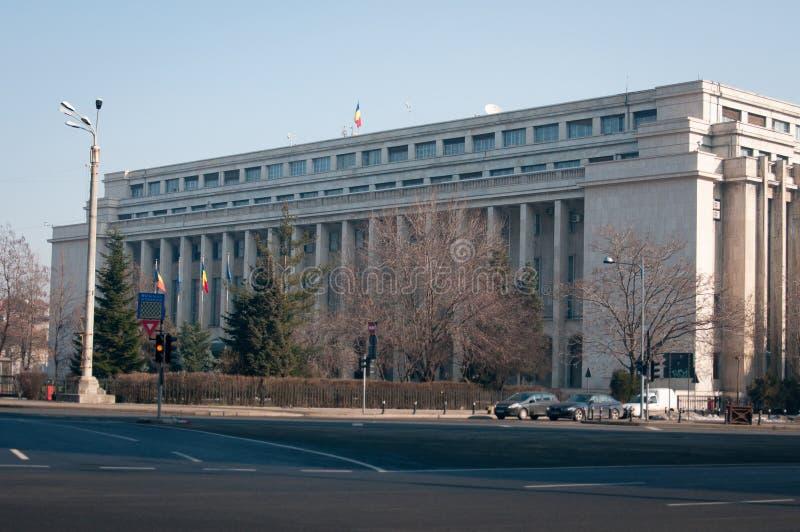 Construction roumaine de gouvernement photos libres de droits