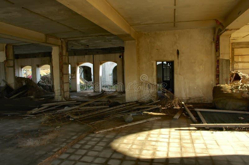 Construction ruinée photos stock