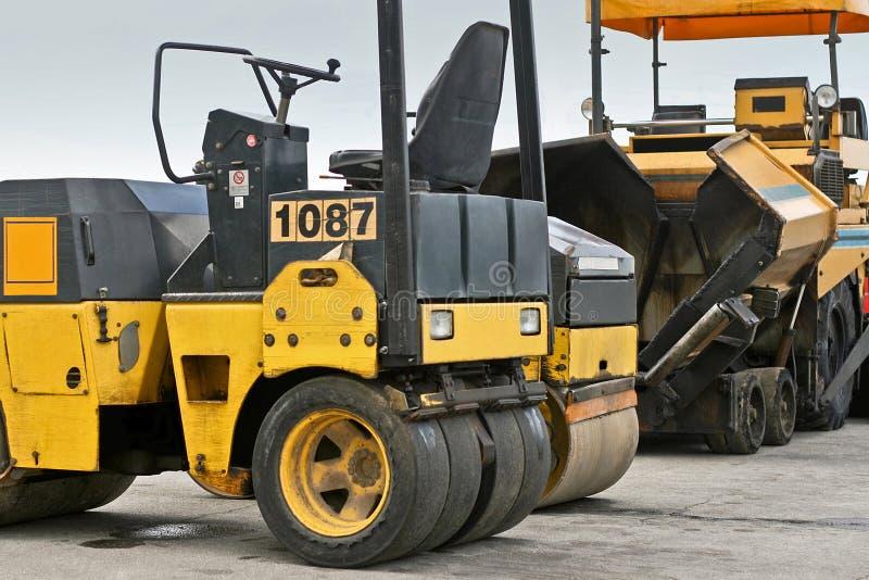 Download Construction runner stock photo. Image of asphalt, yellow - 3172728