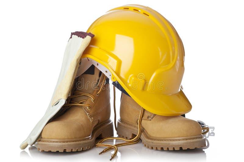Construction safety equipment stock photos
