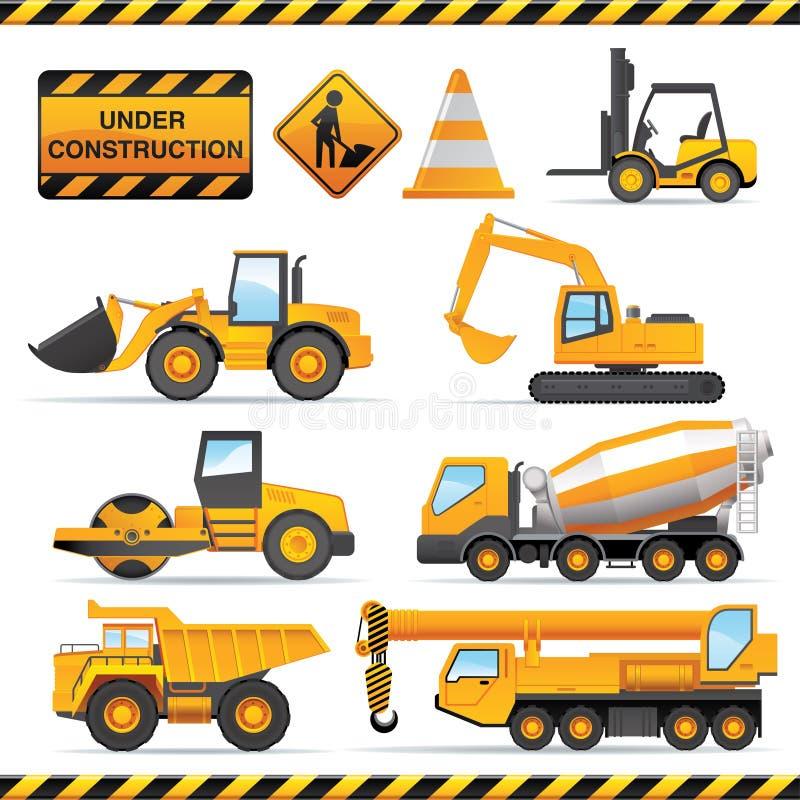 Construction set vector illustration