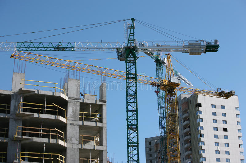 Download Construction site stock image. Image of heavy, industrial - 12000333