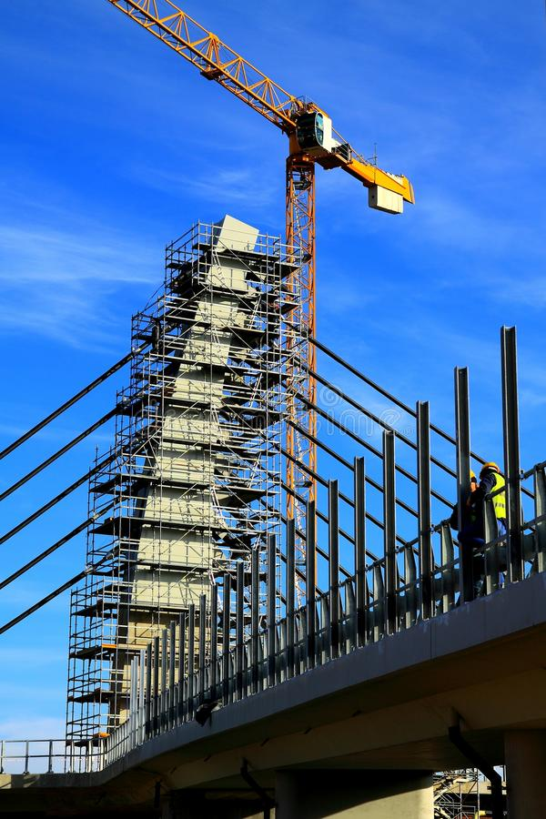Free Construction Site Royalty Free Stock Image - 17580246