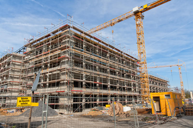 Download Construction site stock photo. Image of gray, development - 21079214