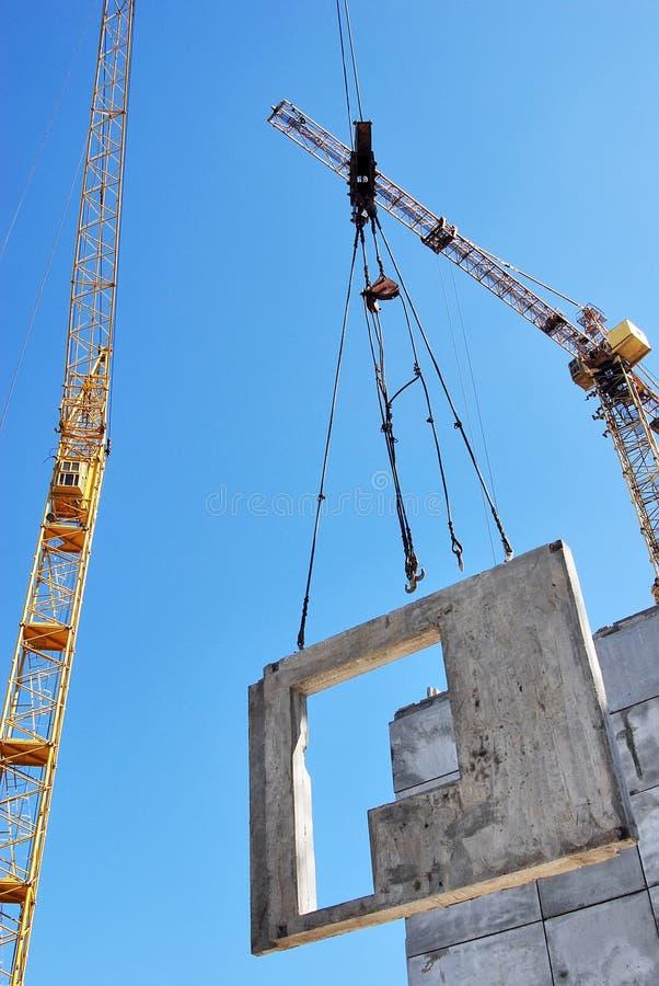 Download Construction site stock image. Image of blue, concrete - 22931995