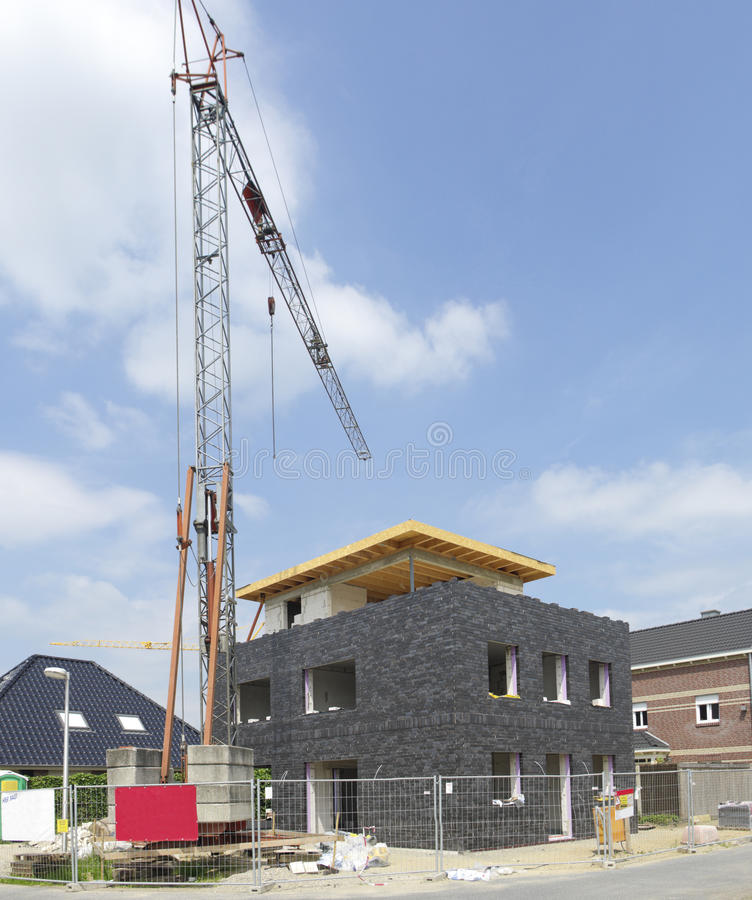 Download Construction site stock photo. Image of structure, incomplete - 26093366