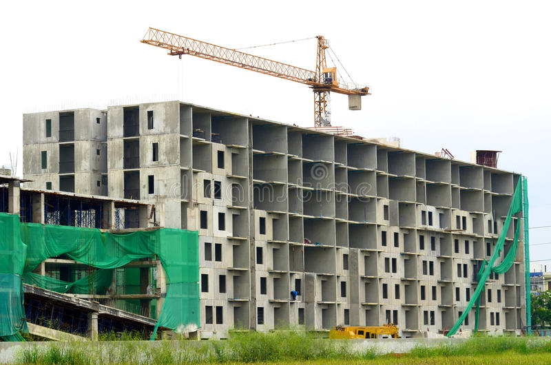 Download Construction Site stock image. Image of tall, architecture - 26671683